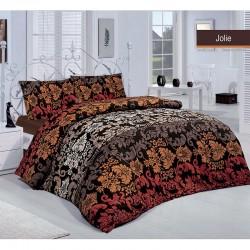 Спално бельо Jolie brown ранфорс