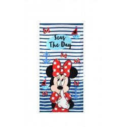 100% Памук детска плажна кърпа  Mini Mouse