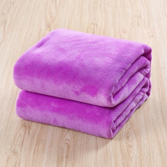 Поларено одеяло в Лилаво
