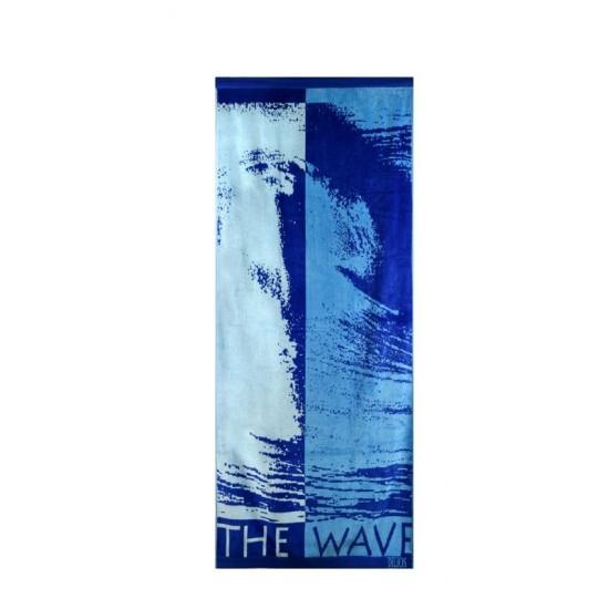 100% Памук плажна кърпа Wave