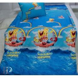 Луксозно детско спално бельо Sponge Bob