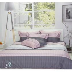 Спално бельо от памучен сатен Naya