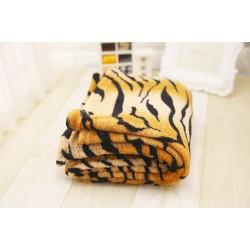 Поларено одеяло Тигрова щампа