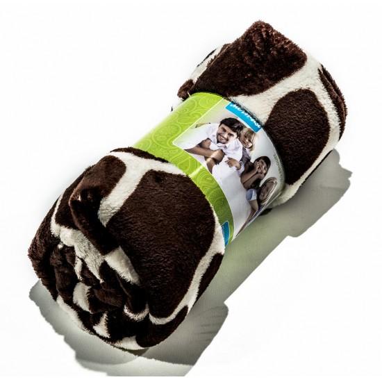 Поларено одеяло COW