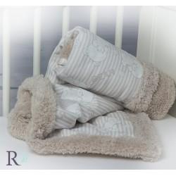 Бебешко одеяло шепра Mikaela Мече