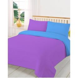 Спално бельо с олекотена завивка ЛИЛАВО с АКВА