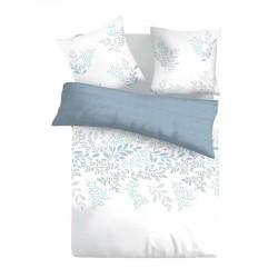 Спално бельо памучен сатен VICTORIA WHITE