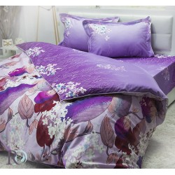 Спално бельо от памучен сатен IRIS