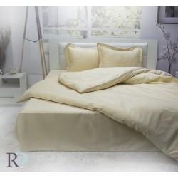 Спално бельо от памучен сатен  Beige
