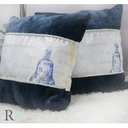 Декоративна възглавница Delfina Dark Blue