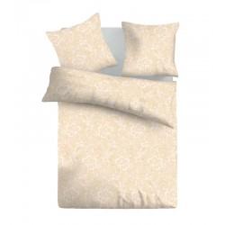 Спално бельо от Памучен сатен SELENA BEIGE