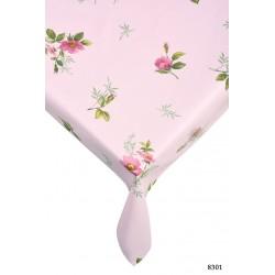 Памучна покривка за маса ZORLU pink 8301
