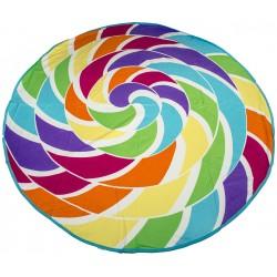 Кръгла плажна кърпа Colourful
