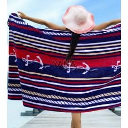 Плажна кърпа 100% Памук КОТВА