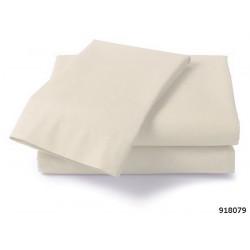 Долен чаршаф от фин памук ЕКРЮ