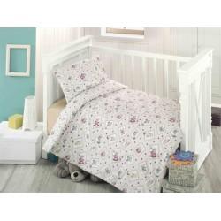 Бебешко спално бельо ранфорс РОРИ