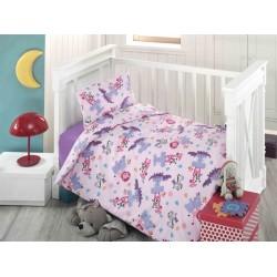 Ранфорс бебешко спално бельо ZUMBA