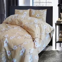 Спално бельо 100% Памук MARGO жълто
