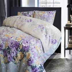Спално бельо 100% Памук ЛАРА лила