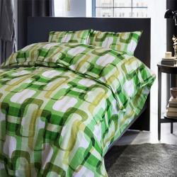 Спално бельо 100% Памук ЛАНИ зелено