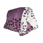 Поларено одеяло в лилаво Beauty