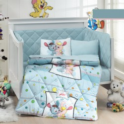 Ранфорс бебешко спално бельо КОЛТ синьо