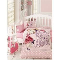 Ранфорс бебешко спално бельо SUZI