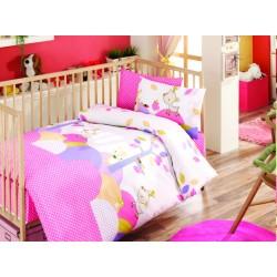 Ранфорс бебешко спално бельо Tomi