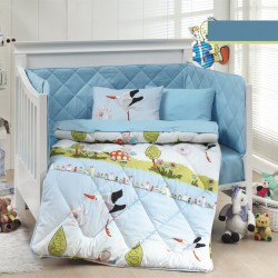 Ранфорс бебешко спално бельо ЩЪРКЕЛ