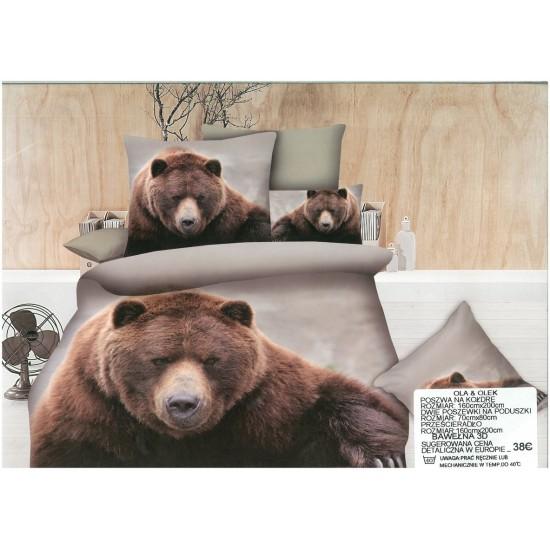 3D Спално бельо BEAR