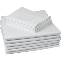Ранфорс бяла калъфка за възглавница