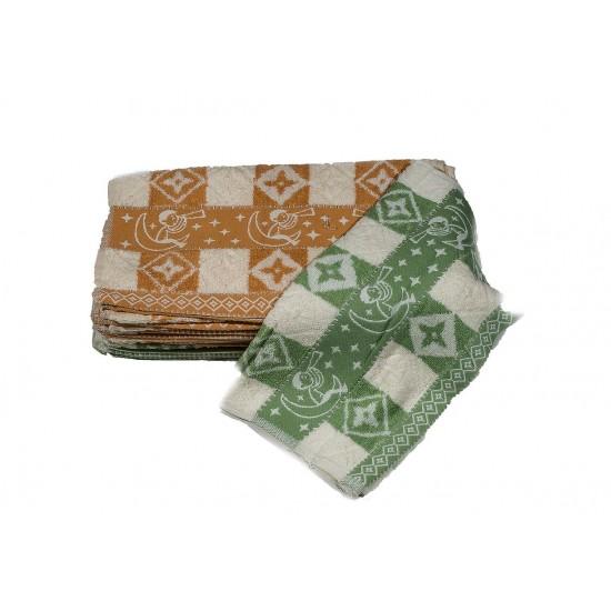 10 броя хавлиени кърпи в комплект СЪНЧО