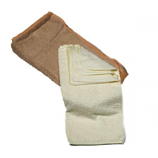 10 броя хавлиени кърпи в комплект БЕЖОВО и ЕКРЮ
