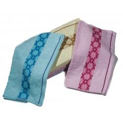 10 броя хавлиени кърпи в комплект ЦВЕТИ
