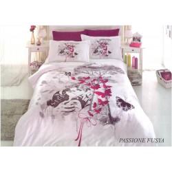 Луксозно спално бельо MADAM памучен сатен