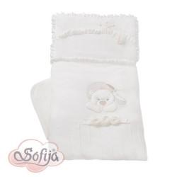 Луксозно бебешко спално бельо от 5 части Анастейша