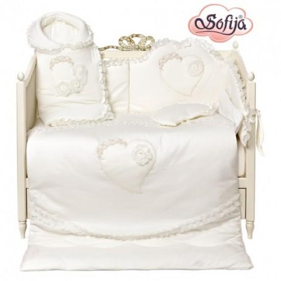Висок клас обиколник за детско легло Селестия