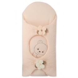 Луксозен порт за бебе от фин памук Цекинка