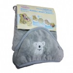 Бебешко одеяло за количка с КОАЛА сиво