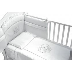 Луксозен бебешки спален комплект Инканто 4 части