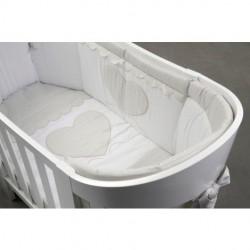 Луксозен бебешки спален комплект Ева