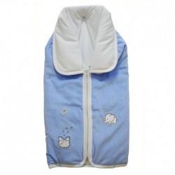 Порт за бебе и одеяло Папи синьо