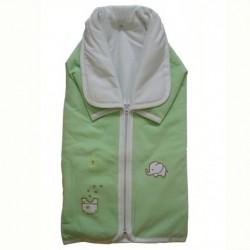 Порт за бебе и одеяло Папи зелено