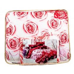 Олекотено спално бельо от микрофибър Долина от Рози