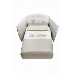 Луксозен бебешки спален комплект Моето Малко Бебе