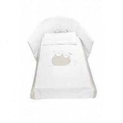 Луксозен бебешки спален комплект Фреди