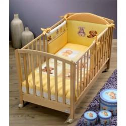 Луксозен бебешки спален комплект Капри