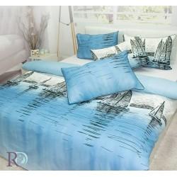 Спално бельо от фин памук ЯХТА