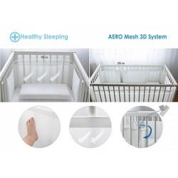 Бял обиколник за детско легло 360 см