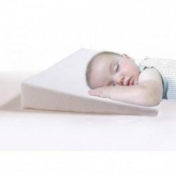 Бяла бебешка калъфка за възглавница Клин 60/36